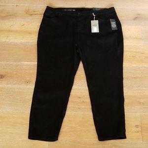Avenue Denim  - Black Skinny Jeans